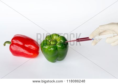 Converting Green Peppers