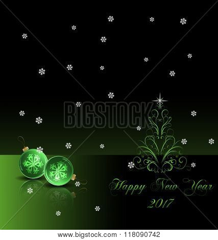 Happy New Year background 2017