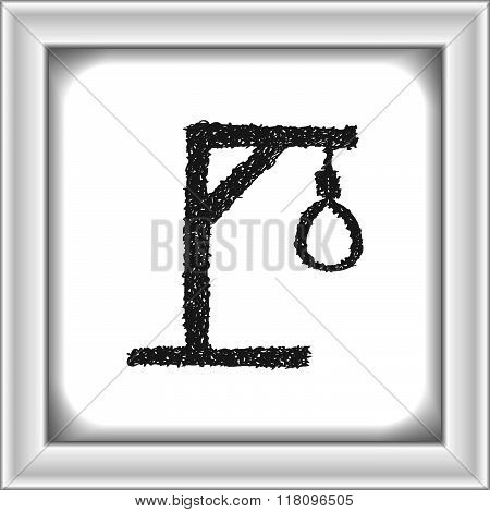 Simple Doodle Of A Hangmans Noose