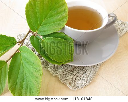 Witch hazel tea