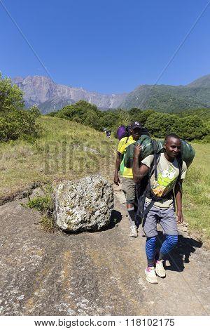Mount Meru Porters