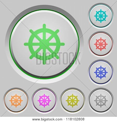 Steering Wheel Push Buttons