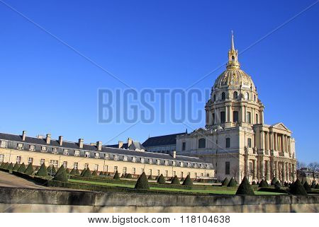 Paris, France -18 December 2011: Hotel National Des Invalides, Paris, France