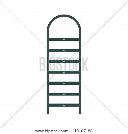 Ladder flat icon
