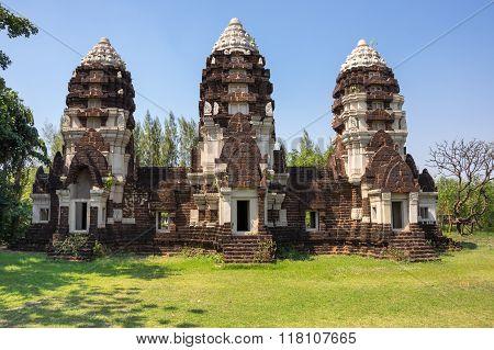 Ancient Khmer Temple