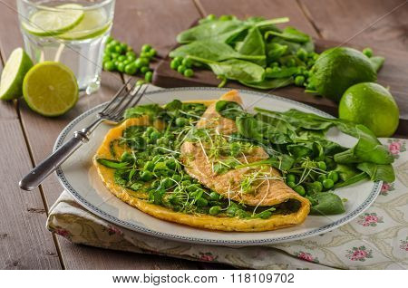 Egg Omelette With Herbs
