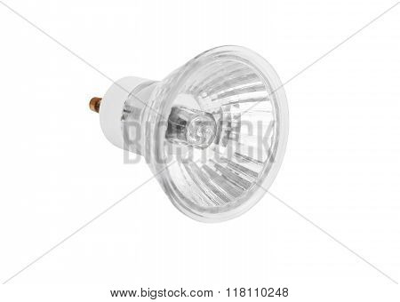 One halogen lamp
