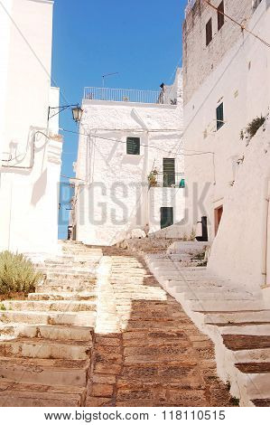 Ostuni The White Town Of Murgia In Puglia - Italy 662