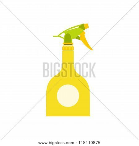 Yellow sprayer bottle