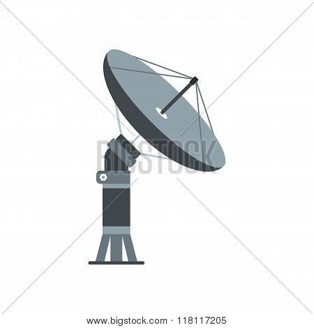 Parabolic aereal flat icon