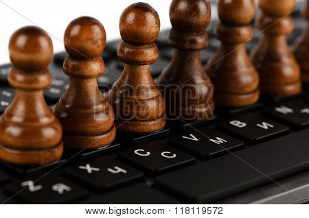 Chess And Keyboard