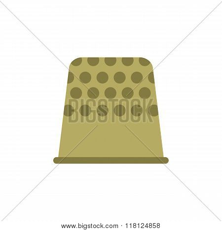 Thimble flat icon