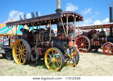 Barrett Traction Engine