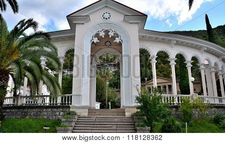 View Of The Gagra Colonnade. Gagra, Abkhazia
