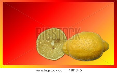 Stock Image Of Lemon Juice Background
