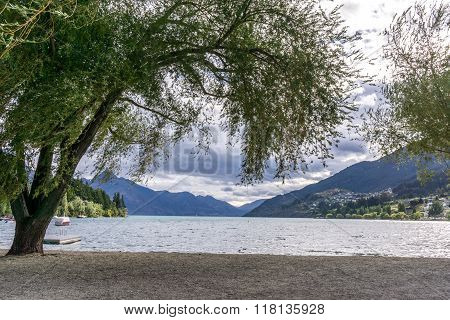 Lake Wakatipu View In Queenstown