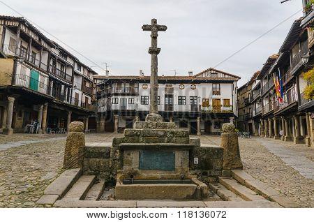 Main Square In La Alberca