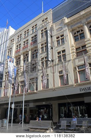 David Jones department store Melbourne Australia