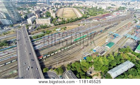 Railways In Moscow