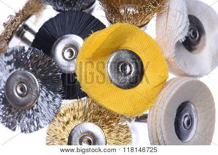Set of mini rotary drill tools