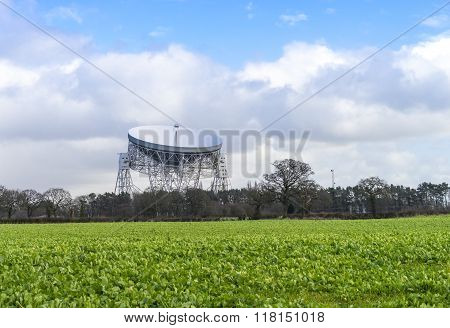 Jodrell Bank Radio Telescope, Cheshire, England