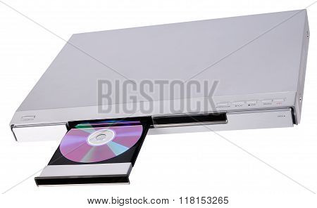 Dvd Player With Open Tray