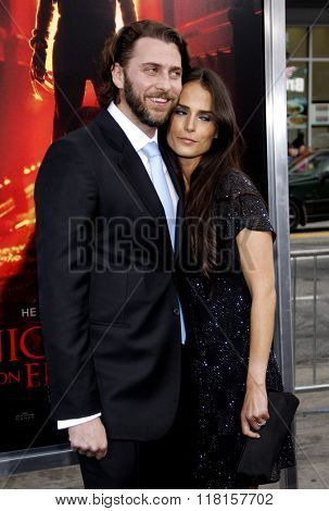 Adam Form and Jordana Brewster at the Los Angeles Premiere of