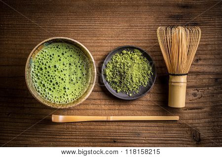 Japanese Tea Ceremony Setting