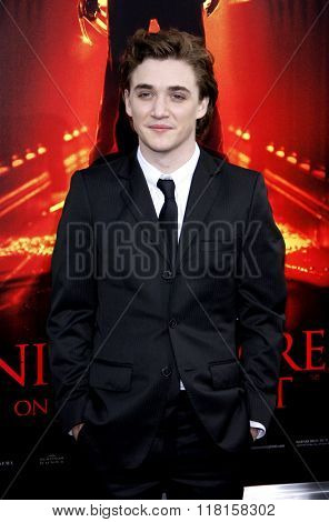 Kyle Gallner at the Los Angeles Premiere of