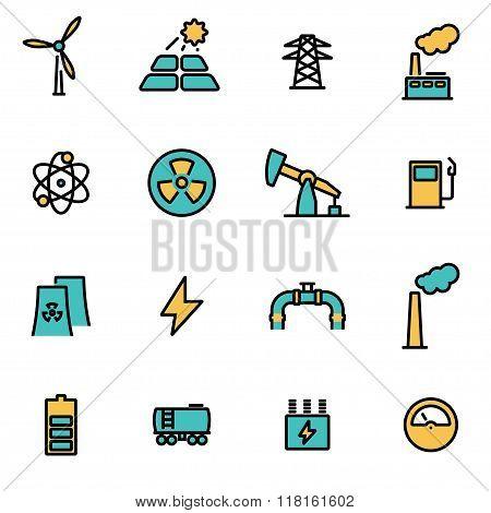 Vector Line Energetics Set