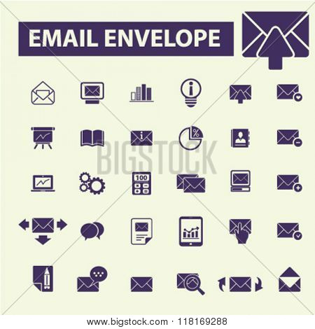 email icons, message icons, mail icons, email vector, mail concept, post icons