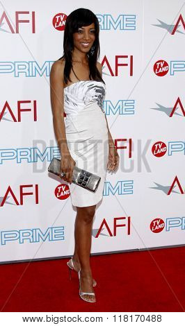 Shaun Robinson at the 37th Annual AFI LIfetime Achievement Awards held at the Sony Pictures Studios, California, United States on June 11, 2009.