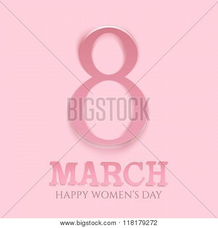 March 8 international womens day background.