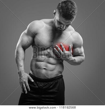 Bodybuilder Heart pain