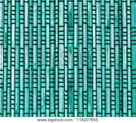 Blue Bamboo Background
