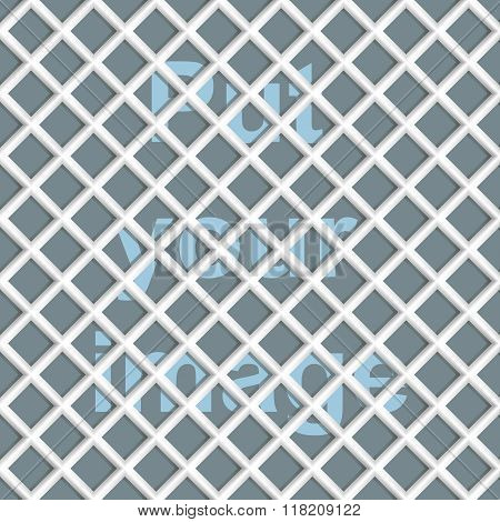 Seamless abstract mesh(grid) background - rhombus.