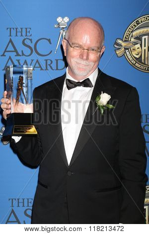 LOS ANGELES - FEB 14:  Lowell Peterson at the 2016 American Society of Cinematographers Awards at the Century Plaza Hotel on February 14, 2016 in Century City, CA