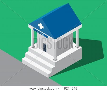 Hospital building medical.