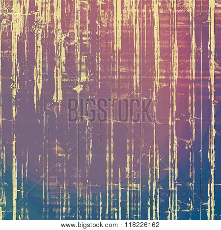 Vintage old texture with space for text or image, distressed grunge background. With different color patterns: yellow (beige); blue; pink; purple (violet)