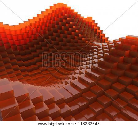 Abstract cubic wave
