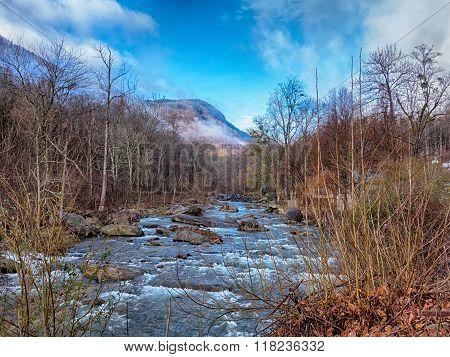 Nature Around Lake Lure Chimney Rock And Broad River North Carolinaa