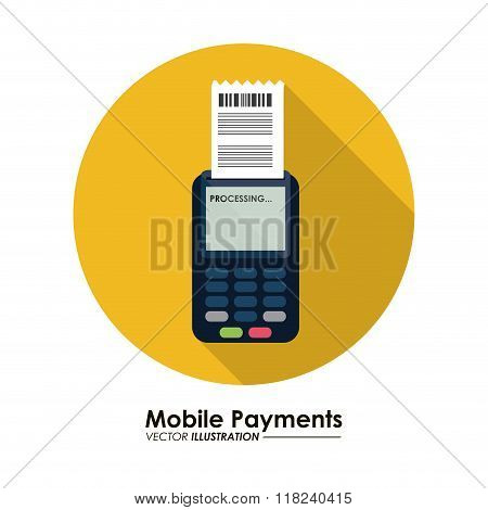 Mobile payment icons design