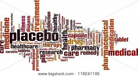 Placebo Word Cloud