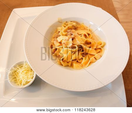Photo Tasty Spaghetti With Meat