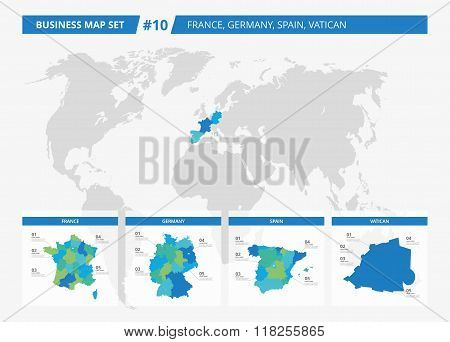 Business map set 10