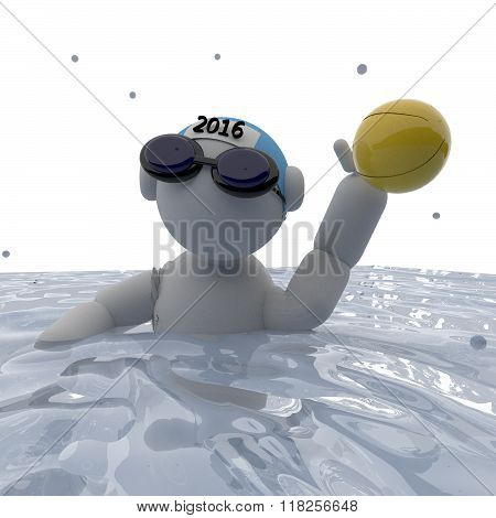 Water Polo Player