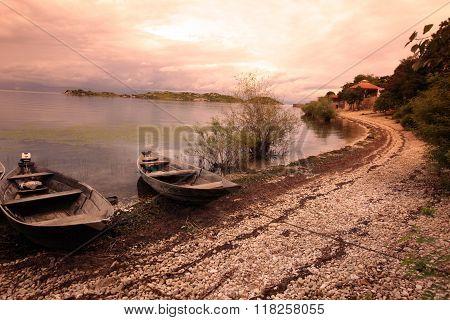 Europe Balkan Montenegro Skadar Lake