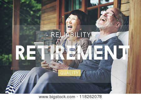 Retirement savings Planning Pension Insurance Concept