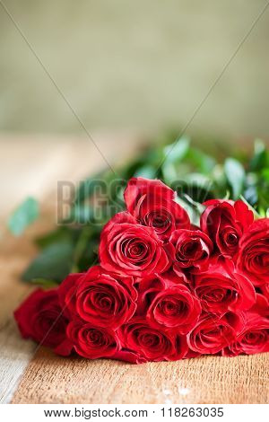 Red Roses Bouquet. Flowers