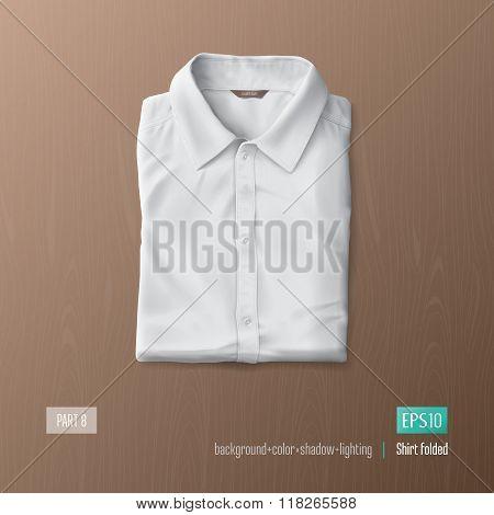 Realistic shirt vector illustration